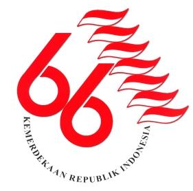 Logo HUT RI Ke 66 Tahun 2011