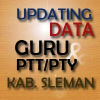 Updating Data Guru & PTT/PTY Kabupaten Sleman