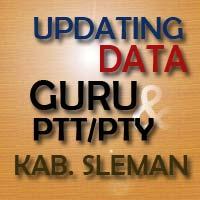 Updating Data Guru & PTT/PTY Kabupaten Sleman