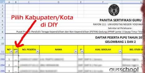 Results for: Jadwal Pelaksanaan Dan Daftar Peserta Plpg 2013 Rayon 110