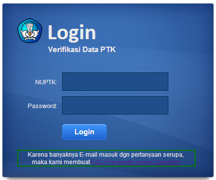 Ayo Verifikasi Data PTK Anda di p2tkdikdas.kemdikbud.go.id | gusschool
